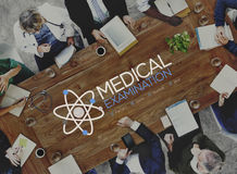 Medical Team Discussion Diagnose Disease Concept Royalty Free Stock Photography