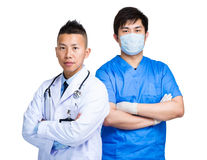 Medical team of doctor Stock Images