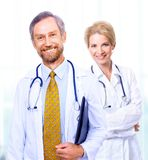 A medical team of doctors Stock Image