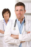 Medical team - doctors Royalty Free Stock Photos