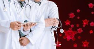 Medical team doctors of cure corona virus COVID 19