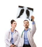 A medical team of doctors Royalty Free Stock Images