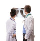 A medical team of doctors Stock Photography