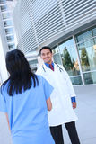 Medical Team Handshake Royalty Free Stock Photos