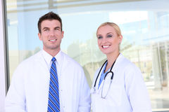 Medical Team at Hospital Stock Photos