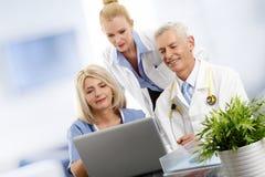 Medical team at hospital Royalty Free Stock Image