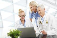 Medical team at hospital Stock Photo
