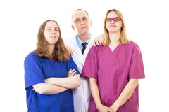 Medical team important for best work! Royalty Free Stock Photo