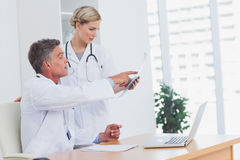 Medical team at the office Royalty Free Stock Image