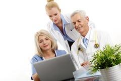 Medical team portrait Stock Photo