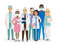 Medical team vector illustration Stock Photos