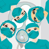 Medical Team Working Royalty Free Stock Images