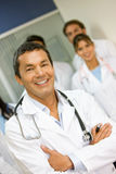 Medical teamwork Royalty Free Stock Photo