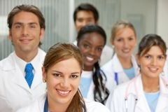 Medical teamwork Stock Photography