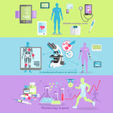 Medical Technology and Pharmacology Research Stock Photos