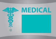 Medical template Royalty Free Stock Photos