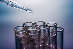 Medical testing Royalty Free Stock Image