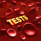 Medical tests. Like blood tests and disease screening tests for healthy life and diagnosis and medication related concept Royalty Free Stock Image