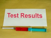 Medical tests Royalty Free Stock Image