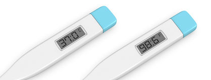 Medical thermometer Royalty Free Stock Images