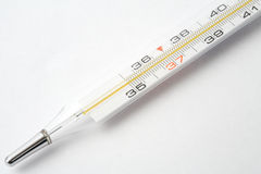 Medical thermometer. Old medical thermometer for measuring fever Royalty Free Stock Photography