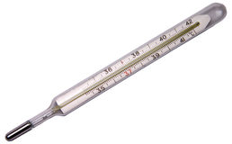Medical thermometer isolated Stock Photography