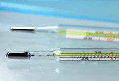Medical thermometers Stock Photos