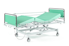 Medical transform  bed isolated Stock Image