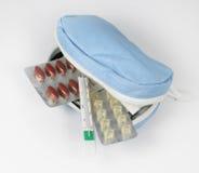 Medical travel kit Royalty Free Stock Images