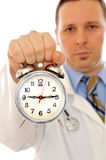 Medical treatment time Royalty Free Stock Photos