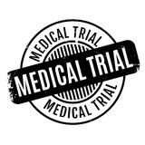 Medical Trial rubber stamp Royalty Free Stock Images