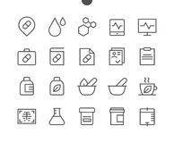 Medical UI Pixel Perfect Well-crafted Vector Thin Line Icons 48x48 Ready for 24x24 Grid for Web Graphics and Apps with. Editable Stroke. Simple Minimal Stock Photography
