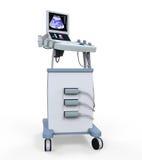 Medical Ultrasound Diagnostic Machine vector illustration