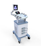 Medical Ultrasound Diagnostic Machine Stock Image