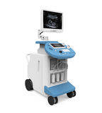 Medical Ultrasound Diagnostic Machine Royalty Free Stock Images