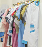 Medical uniforms Stock Photography