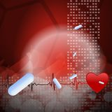 Medical Vector background Royalty Free Stock Photo