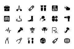 Medical Vector Icons 4 Stock Photography