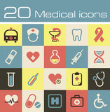 Medical vector icons set Stock Photography