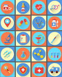 Medical vector icons 20 set. Royalty Free Stock Photography