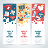 Medical vertical banners Stock Photo