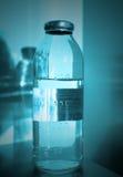 Medical vial. Monochrome photos Royalty Free Stock Photography
