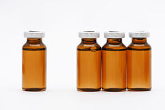 Medical vials stock photo