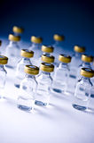 Medical vials Royalty Free Stock Image
