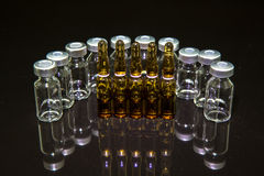 Medical vials Stock Images