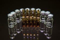 Medical vials Stock Images
