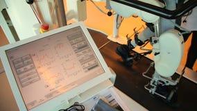 Medical walking robot. LOKOMAT - walking robot - Stock Footage. Medical walking robot. LOKOMAT - walking robot stock video