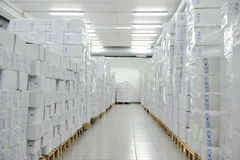 Medical warehouse Royalty Free Stock Image