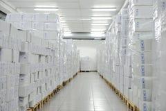 Medical warehouse royalty free stock image