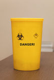 Medical waste container Stock Image